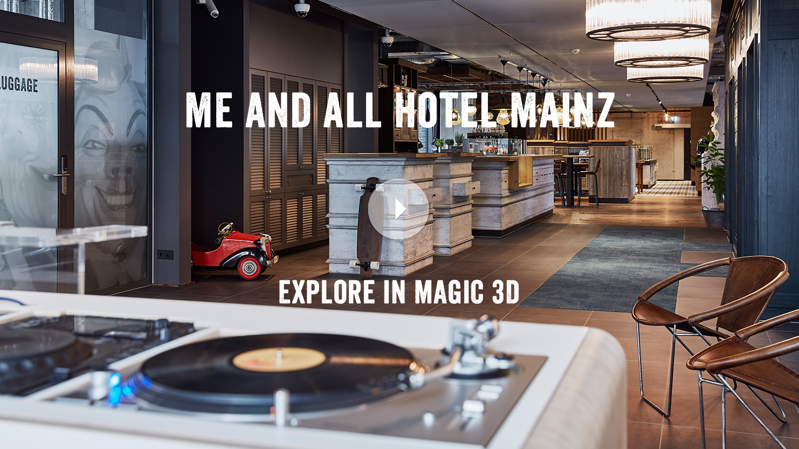 me and all hotel mainz - explore in magic 3D